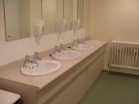 Adam smith building level 2 toilets
