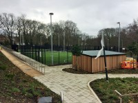 Football and Netball Pitches