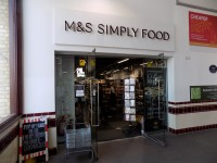 Marks and Spencer Cambridge Rail Simply Food