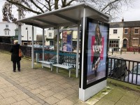 Northam Road (South Side - Brintons Road) Bus Stop to St Mary's Stadium
