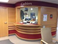 Cashiers Desk