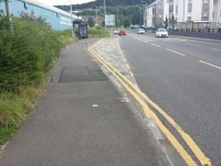 Morfa Retail Park Bus Stop (Route 34 from City Centre towards Neath) to the Liberty Stadium