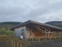 Tweed Valley Forest Park - Glentress Gateway Building