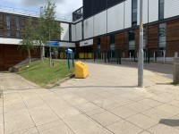 Route from Bus Stop to Lister Hospital Main Entrance
