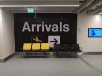 Terminal 2 Arrivals A1 to A12