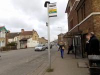 Vicarage Road - South Side Bus Stop (Watford General Hospital) to Vicarage Road Stadium