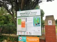 Highfield Road Recreation Ground