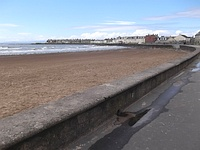 Route - Troon Station to Troon Beach
