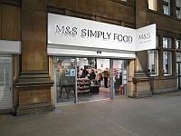 Marks and Spencer Edinburgh Waverley Rail Simply Food