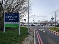 Silver Zone Car Park - Reception Building