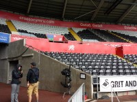 Croeso North Stand - West Corner