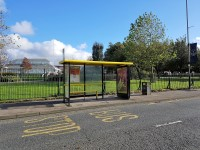Soccer Bus Stop to Anfield (Anfield Road)