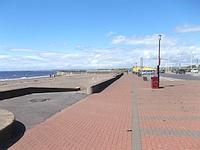Route - Prestwick Town Station to Prestwick Beach