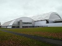 Oriam Football Pitch Building