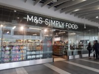 Marks and Spencer Birmingham New Street Rail Simply Food