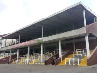 Grandstand and Paddock Stand - Second Floor - The Cue Card Bar