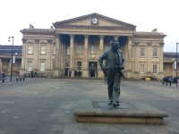 Huddersfield Train Station to the John Smith's Stadium