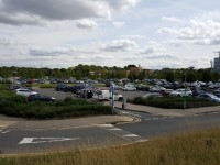 Parking at Peterborough City Hospital