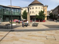 Route Plan - Woking Bus and Train Station to Jubilee Square Via Church Path