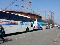 Coach Parking (Britannia Road) to St Mary's Stadium