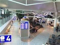 Departure Lounge and Mezzanine Level