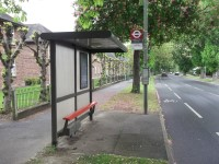 Route Plan 1 - Monks Orchard Road Bus Stop to Main Reception