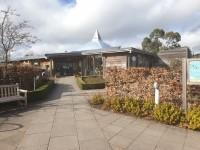 Ness Botanic Gardens - Main Visitor Centre Building