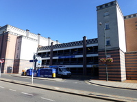 Route Plan - Cinema Car Park to the Civic Offices