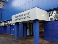 Main Stand - Joe Mercer Suite and Alex Young Suite