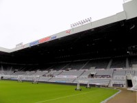 Gallowgate Stand - Lower Tier and Middle Tier