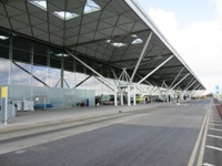 Drop Off Zones, Taxi Ranks, Airport Car Park Bus Stops and Access to the Terminal