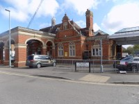 Hertford East Station
