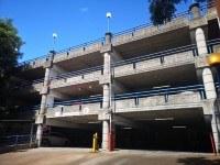 South and West Car Parks