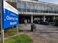 Charing Cross Hospital Main Entrance Tower Block