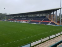 Castle Park Rugby Stadium - West Stand