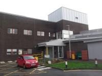Main Hospital Side Entrance
