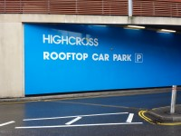 Highcross Leicester - Rooftop Car Park