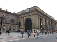 Route Plan - Newcastle Central Station to Campus for Ageing and Vitality