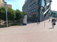 Route from Coventry Bus Station to public realm for the Engineering and Computing Building