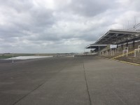 Grandstand and Paddock Trackside
