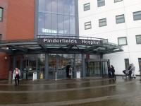 Main Pinderfields Hospital Building