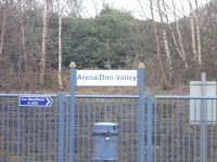 Arena/Don Valley Tram Stop