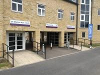 Route Plan 1 - De Marillac / Wiseman Halls to Refectory