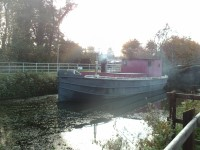 Lock Keepers Cottage - Industry Barge