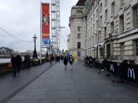 Queen's Walk - between Westminster Bridge and Golden Jubilee Bridges